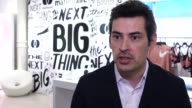 INTERVIEW Stephane Wyper talks about technological advances for brick and mortar stores at Mastercard and Marie Claire Launch the Next Big Thing...