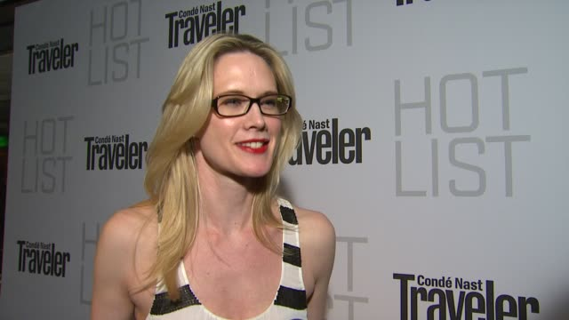 Stephanie March on the event at the Conde Nast Traveler Hot List Party at West Hollywood CA
