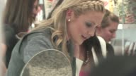 Stephanie Pratt shopping at Coca Cola 125th anniversary at Kitson in Los Angeles at the Celebrity Sightings in Los Angeles at Los Angeles CA