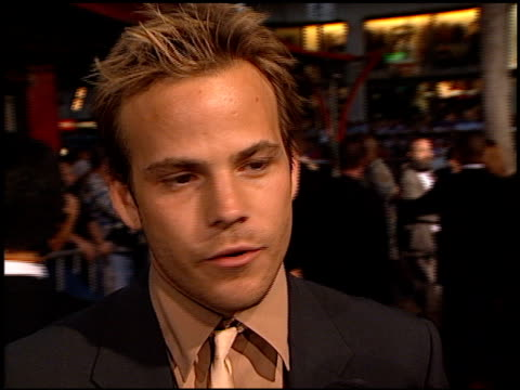 Stephen Dorff at the 'Blade' Premiere at Grauman's Chinese Theatre in Hollywood California on August 20 1998