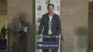 INTERVIEW Stephen Gardner of Amtrak welcomes audience to National Train Day says the theme today is 'Trains Matter' Amtrak National Train Day 2013...
