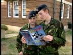 Men released Blair along with David Mason reading skydiving magazine