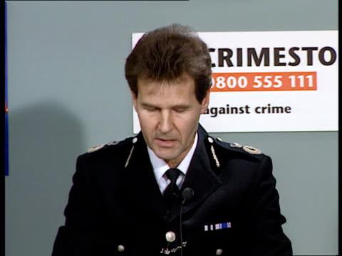 Unlawful killing verdict ITNNew Scotland YardGV police pkfAsst Comm Ian Johnston pkf police did a good job / if Mrs Lawrence wishes to...