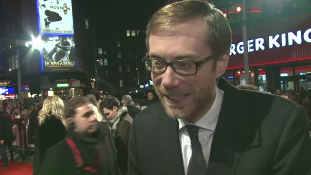 INTERVIEW Stephen Merchant on playing odd characters on Rafe Spall on sticking to the script or not on working with Ricky Gervais and on 'romcom'...