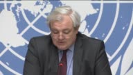 Stephen O'Brien United Nations' UnderSecretaryGeneral for Humanitarian Affairs and Emergency Relief Coordinator and Margaret Chan directorgeneral of...