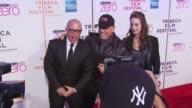 Steve Cohen Alexa Ray Joel and Billy Joel at the Premiere Of 'Last Play At Shea' 9th Annual Tribeca Film Festival at New York NY