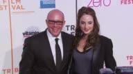 Steve Cohen and Alexa Ray Joel at the Premiere Of 'Last Play At Shea' 9th Annual Tribeca Film Festival at New York NY