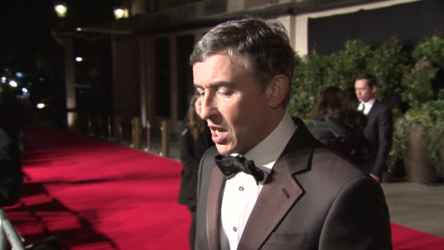 INTERVIEW Steve Coogan on his win and trying out new things at BAFTA After Party at on February 16 2014 in London England
