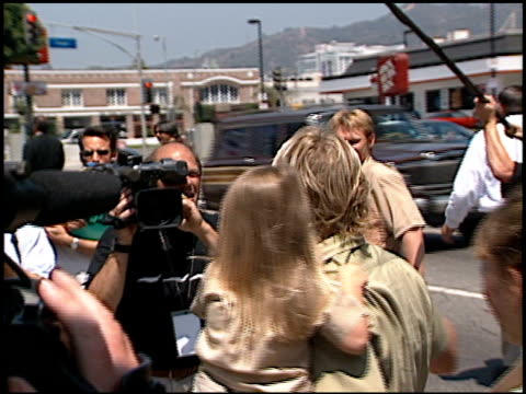 Steve Irwin at the 'Crocodile Hunter Collision Course' Premiere at the Cinerama Dome at ArcLight Cinemas in Hollywood California on June 29 2002