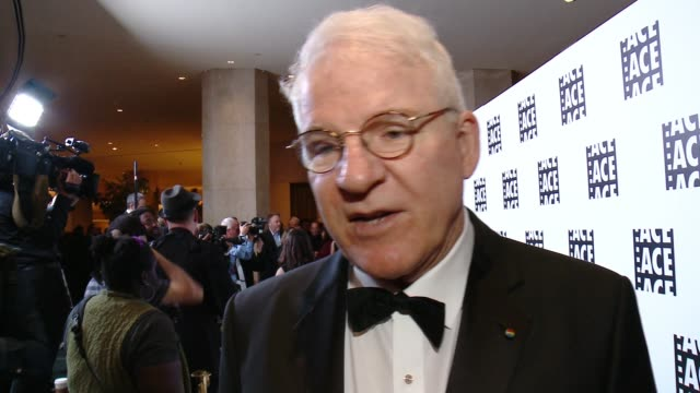 INTERVIEW Steve Martin on presenting to Nancy Meyers tonight on their long time collaboration On working together on Father of the Bride films On why...