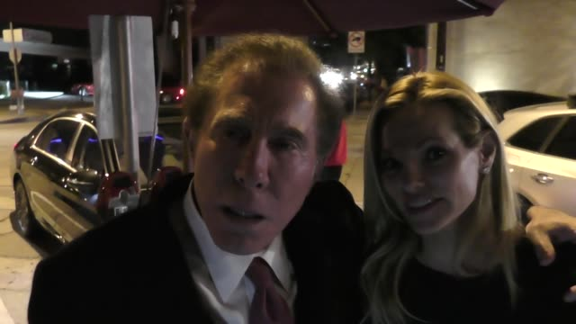 INTERVIEW Steve Wynn on the Las Vegas security guard who was shot going back to work outside Craig's in West Hollywood at Celebrity Sightings in Los...