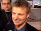 Steve Zahn at the 'That Thing You Do' Premiere at Cineplex Odeon in Century City California on October 1 1996
