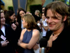 Steve Zahn is interviewed at the Out of Sight Premiere