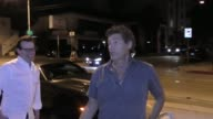 Steven Bauer jokes about Scarface lines outside Craig's Restaurant in West Hollywood in Celebrity Sightings in Los Angeles