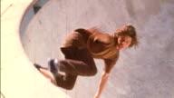 Steven Piccalo and friends skateboarding the Santa Monica Cyn pool
