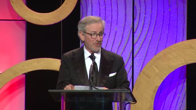 SPEECH Steven Spielberg 63rd Annual ACE Eddie Awards at The Beverly Hilton Hotel on February 16 2013 in Beverly Hills California
