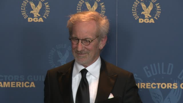 Steven Spielberg at 65th Annual Directors Guild Of America Awards Press Room 2/2/2013 in Hollywood CA