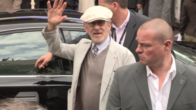Steven Spielberg at Celebrity Video Sightings on May 15 2013 in Cannes France