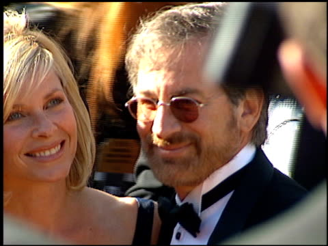 Steven Spielberg at the 1995 Emmy Awards arrivals at the Pasadena Civic Auditorium in Pasadena California on September 10 1995