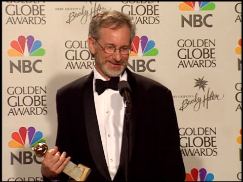 Steven Spielberg at the 1999 Golden Globe Awards at the Beverly Hilton in Beverly Hills California on January 24 1999