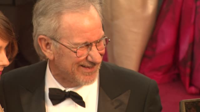 Steven Spielberg at the 83rd Annual Academy Awards Arrivals Part 2 at Hollywood CA