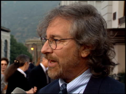 Steven Spielberg at the 'Bridges of Madison County' Premiere at Warner Brothers Lot in Burbank California on May 30 1995