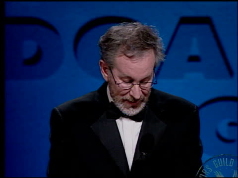 Steven Spielberg at the DGA Awards press room at Fox Studios in Los Angeles Californis on March 5 2000