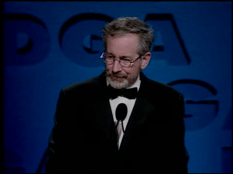 Steven Spielberg at the DGA Awards press room on March 11 2000