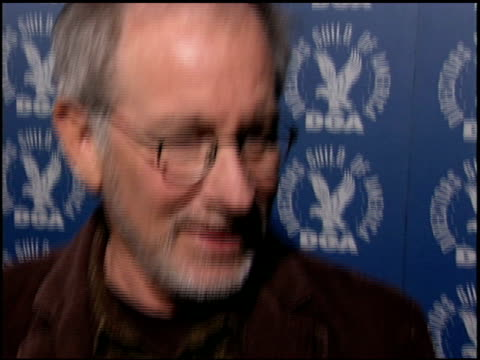 Steven Spielberg at the DGA Nominee Symposium at DGA Theater in Los Angeles California on January 28 2006
