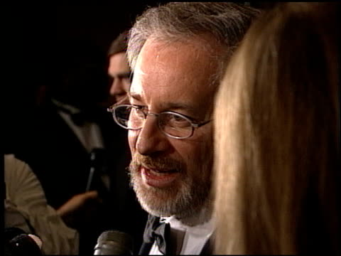 Steven Spielberg at the Directors Guild Awards at the Century Plaza Hotel in Century City California on March 7 1998