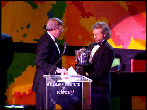 Steven Spielberg at the Weizmann Award Honoring Spielberg at the Bevely Hilton Hotel in Beverly Hills California on October 1 1994