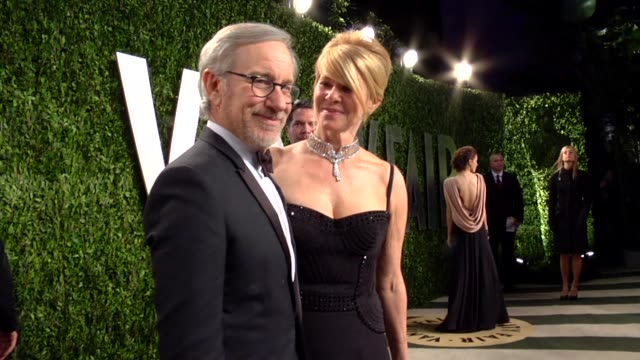 Steven Spielberg Kate Capshaw at The 2013 Vanity Fair Oscar Party Hosted By Graydon Carter Steven Spielberg Kate Capshaw at The 2013 Vanity at Sunset...