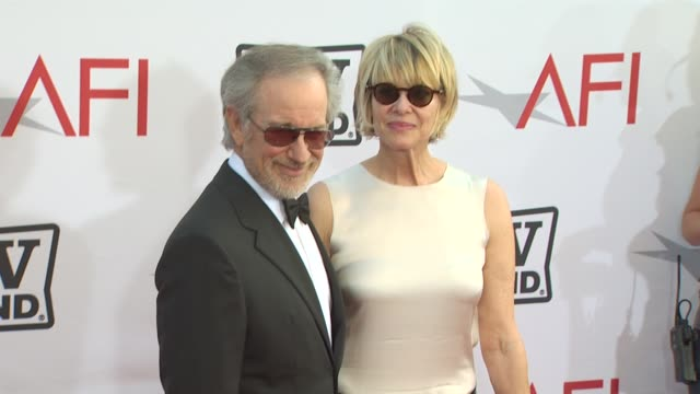 Steven Spielberg Kate Capshaw at the 38th AFI Life Achievement Award Honoring Mike Nichols at Culver City CA