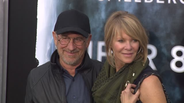 Steven Spielberg Kate Capshaw at the 'Super 8' Premiere at Westwood CA