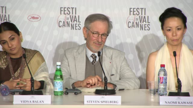 INTERVIEW Steven Spielberg on how he sees the competition what he's looking for in the competition how it's a celebration of global culture at Jury...