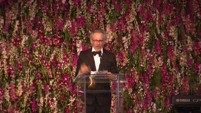 Steven Spielberg on Stanley Kubrick at LACMA Hosts 2012 Art Film Gala Honoring Ed Ruscha And Stanley Kubrick Presented By Gucci on 10/27/12 in Los...