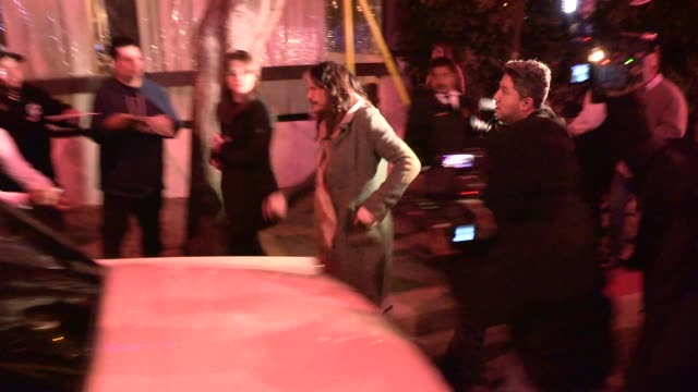 Steven Tyler approves Aerosmith Tattoo for a Paparazzi at Kate Hudson's Private Party in SUR Restaurant West Hollywood at Celebrity Sightings in Los...