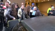 Steven Tyler of Aerosmith getting into his car outside VH1 in New York NY on 11/02/12