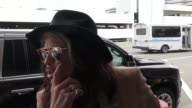INTERVIEW Steven Tyler on possibly returning as an 'American Idol' judge at Los Angeles International Airport at Celebrity Sightings in Los Angeles...