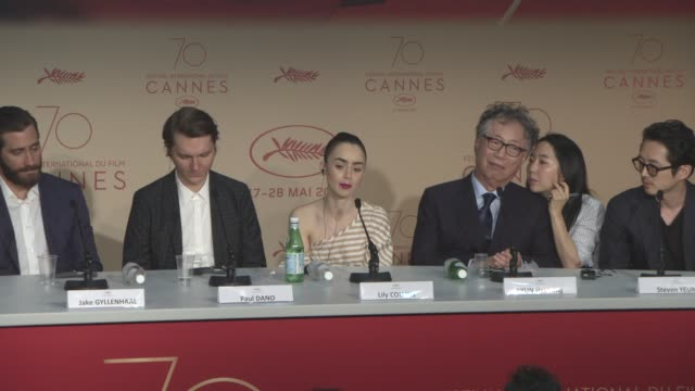 INTERVIEW Steven Yeun Lily Collins Paul Dano Jake Gyllenhaal Tilda Swinton SeoHyun Ahn on if the film changed their relationship with animals at...