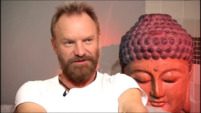 Sting interview SOT discusses new album 'If On A Winter's Night'
