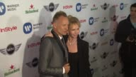Sting Trudy Styler at Warner Music Group GRAMMY Celebration Presented By Mini on 2/10/13 in Los Angeles CA
