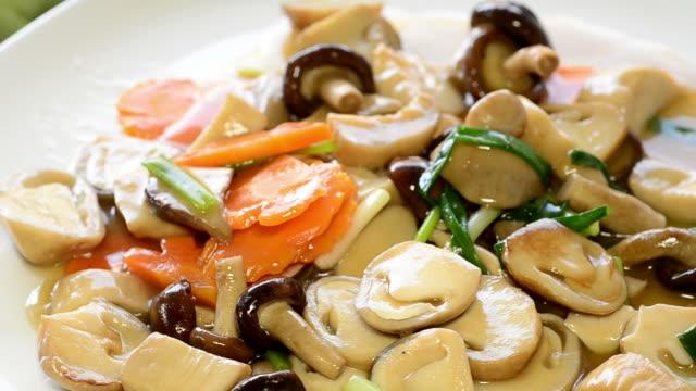 Stir fried mushroom