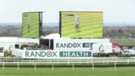 Stock footage of Aintree racecourse home of the Grand National