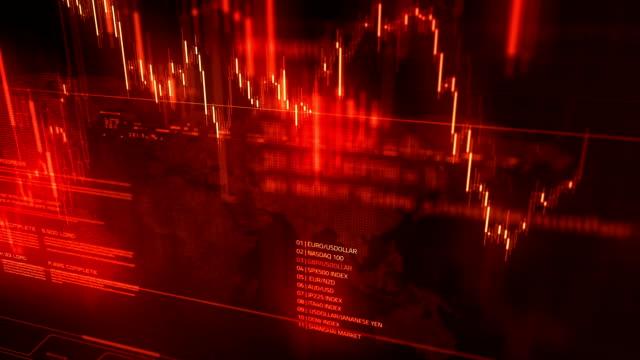 Aktiemarknaden koncept