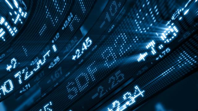 Stock Market Tickers HD