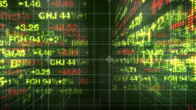 Stock Market Tickers Numbers HD
