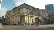 Stock shots the Bank of England Headquarters Threadneedle Street London on 1st August 2017