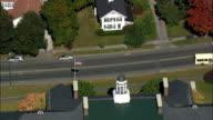 Stockbridge  - Aerial View - Massachusetts,  Berkshire County,  United States