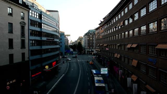 Stockholm City Street Traffic